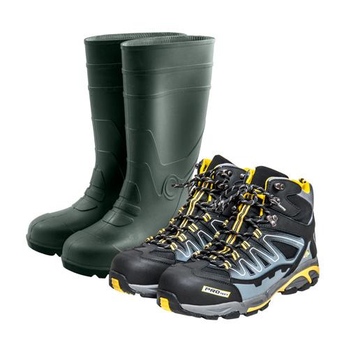 Заштитни обувки и облека