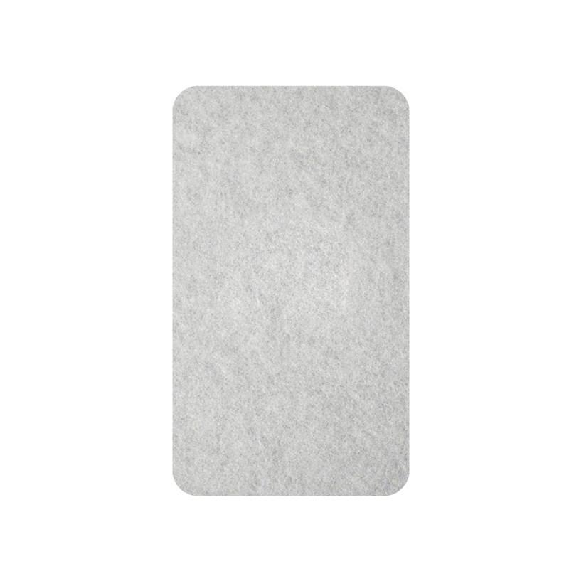 Самолепливи подлошки од филц, бели 16 x 44 x 3мм