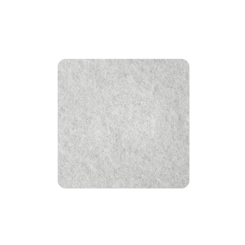 Самолепливи подлошки од филц, бели 22 x 22 x 3мм