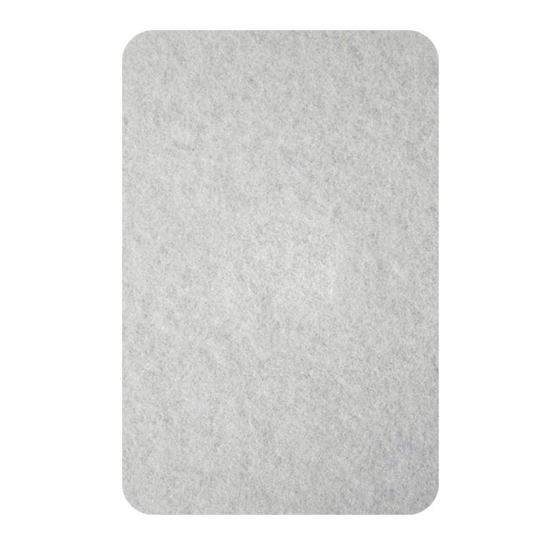 Самолепливи подлошки од филц, бели 22 x 26 x 3мм