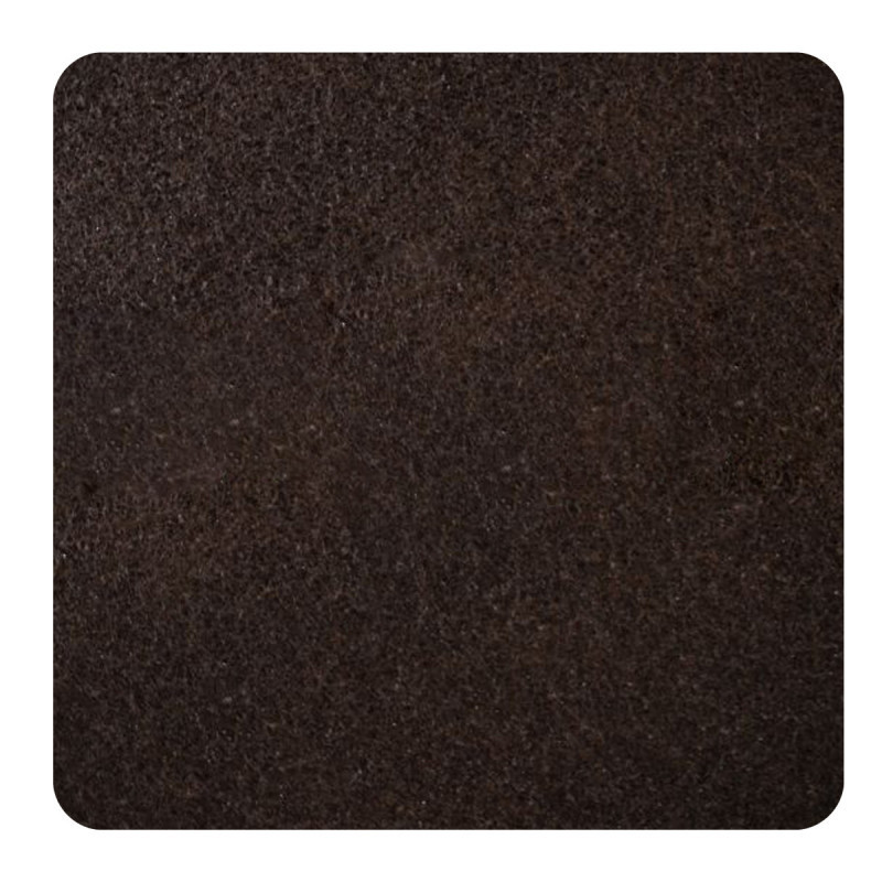 Самолепливи подлошки од филц, кафеави 100 x 100 x 3мм