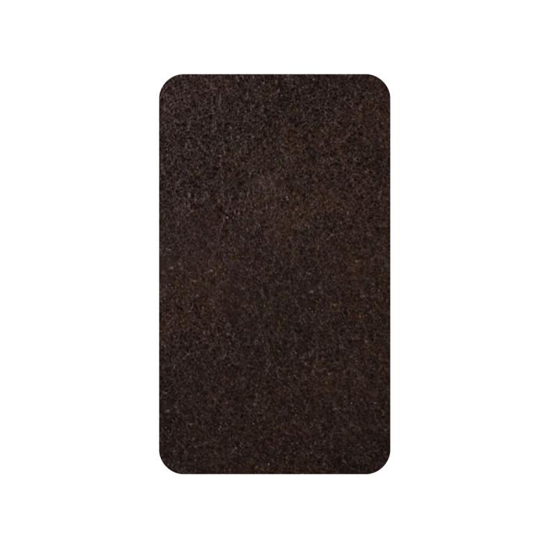 Самолепливи подлошки од филц, кафеави 16 x 44 x 3мм