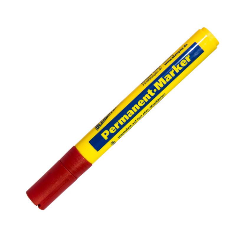 Маркер перманентен 1.5-3мм, црвен