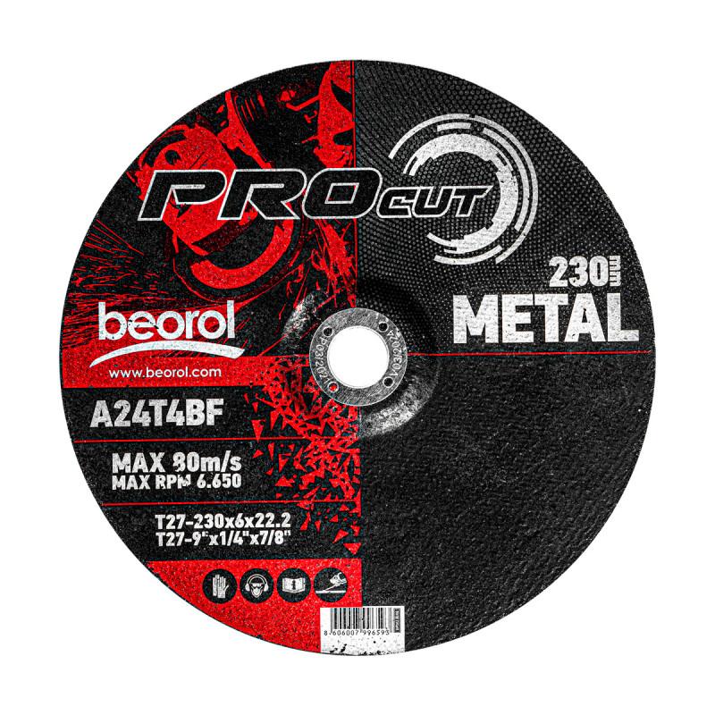 Брусна плоча за метал ø230x6мм