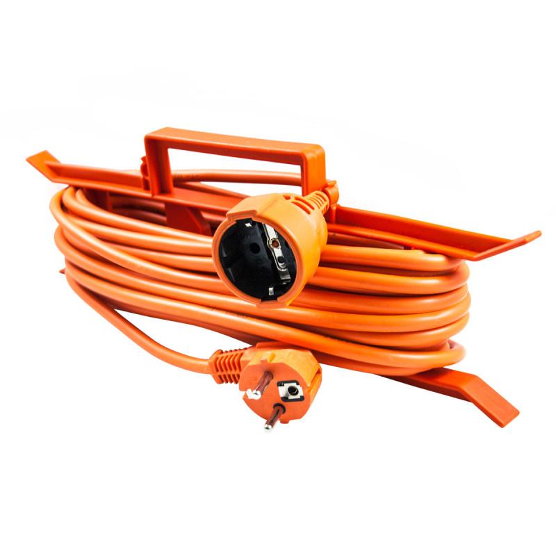 Еднострука преносна приклучница, 15m, портокал
