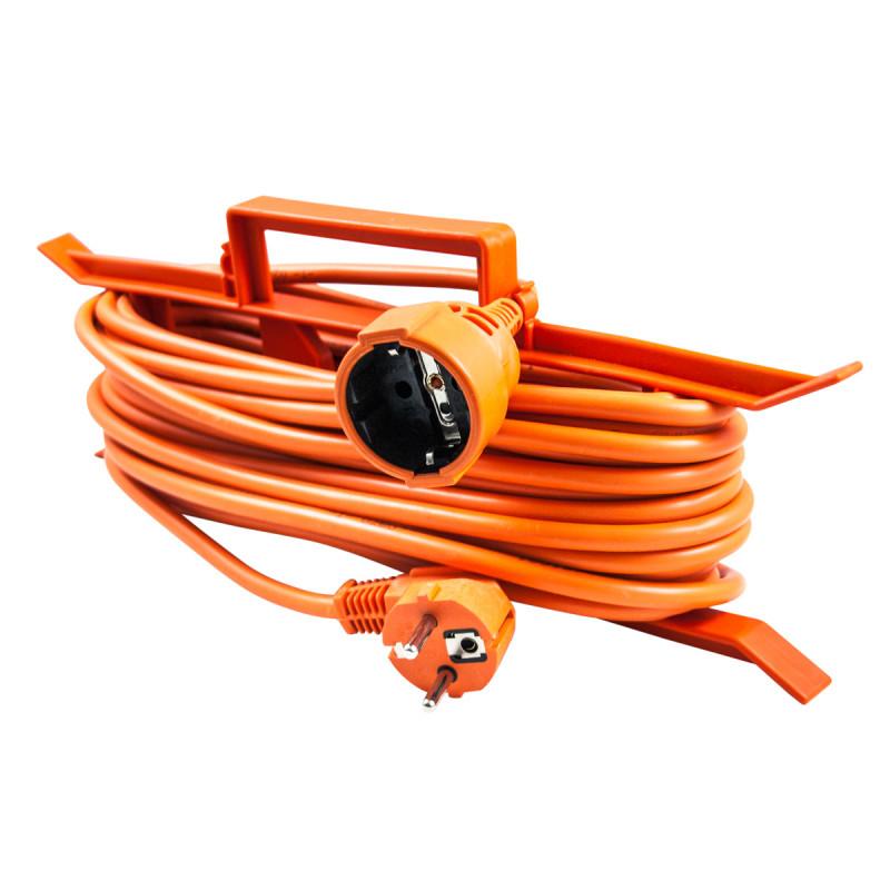 Еднострука преносна приклучница, 20m, портокал