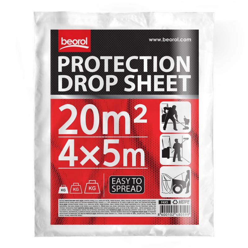 Заштитна фолија 4x5m
