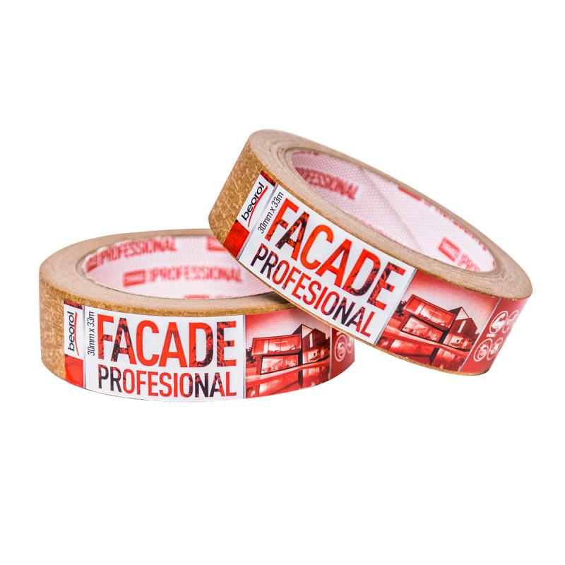 Креп трака Facade Professional 30мм x 33м, 90ᵒC