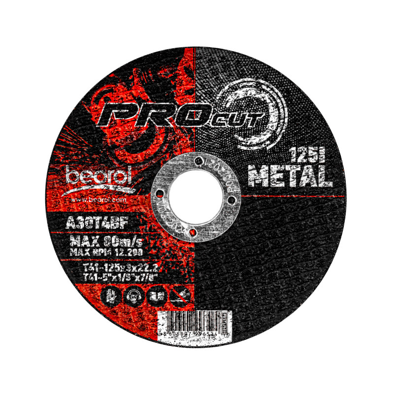 Сечило плоча за метал ø125x3мм