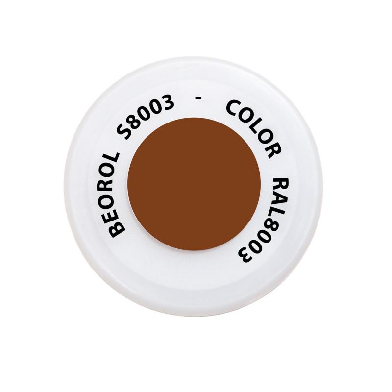 Спреј кафеав Castagna RAL8003