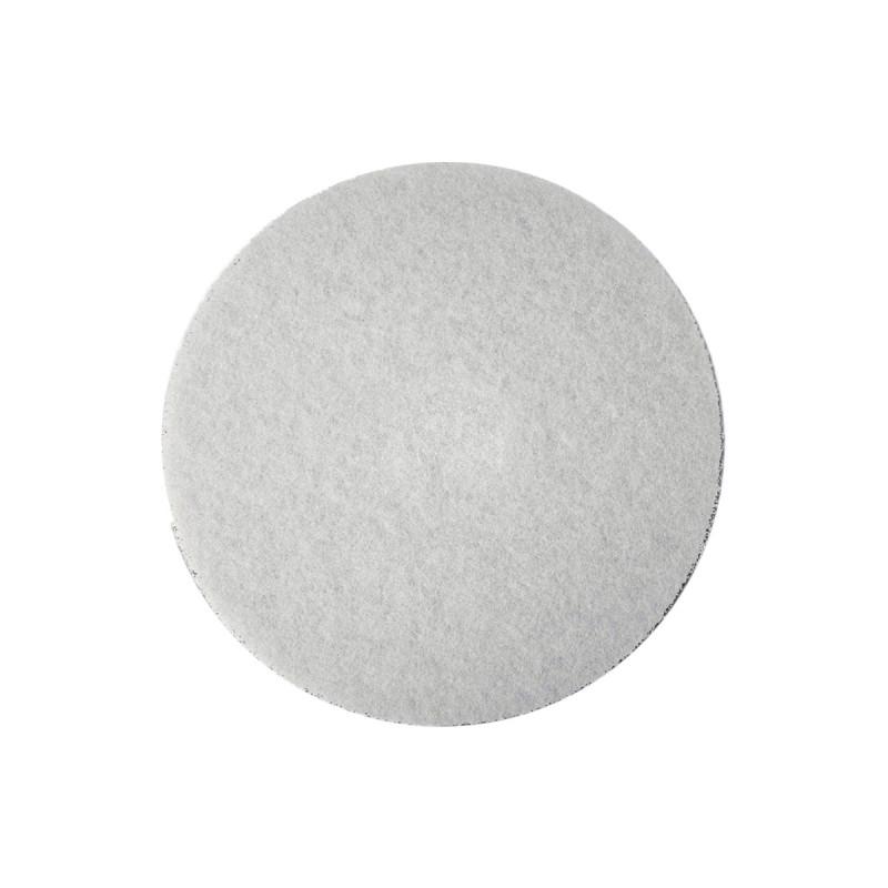 Самолепливи подлошки од филц, бели ø28 x 3мм